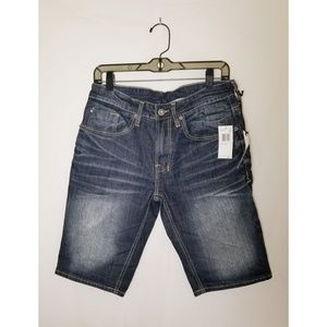 Buffalo David Bitton Six-S Basic Denim Shorts